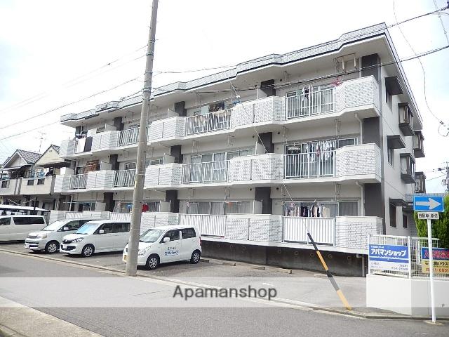 愛知県名古屋市守山区、新守山駅徒歩5分の築28年 3階建の賃貸マンション