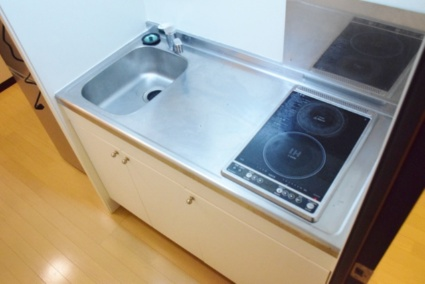 レオネクストゆずり葉の里上野山[1K/26.08m2]のキッチン