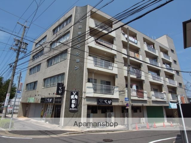 愛知県名古屋市守山区、新守山駅徒歩12分の築35年 5階建の賃貸マンション