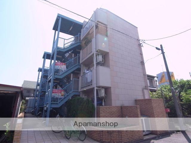 愛知県名古屋市守山区、新守山駅徒歩4分の築28年 4階建の賃貸マンション
