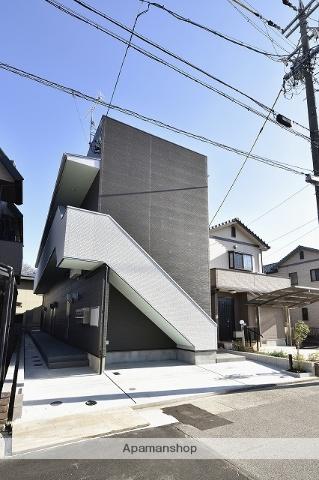愛知県名古屋市守山区、新守山駅徒歩11分の築2年 2階建の賃貸アパート