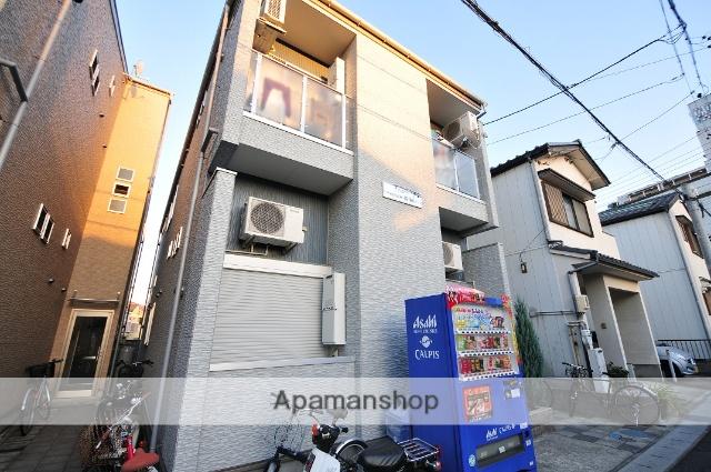 愛知県名古屋市守山区、瓢箪山駅徒歩5分の築7年 2階建の賃貸アパート