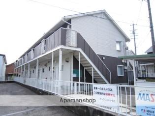 愛知県瀬戸市、中水野駅徒歩14分の築23年 2階建の賃貸アパート