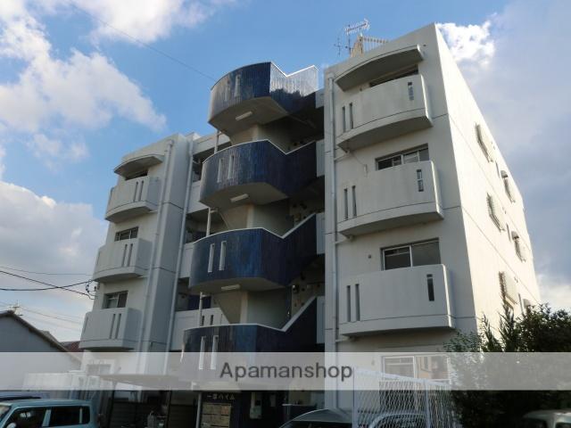 愛知県名古屋市守山区、新守山駅徒歩5分の築32年 4階建の賃貸マンション