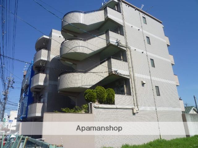 愛知県名古屋市守山区、喜多山駅徒歩7分の築27年 5階建の賃貸マンション