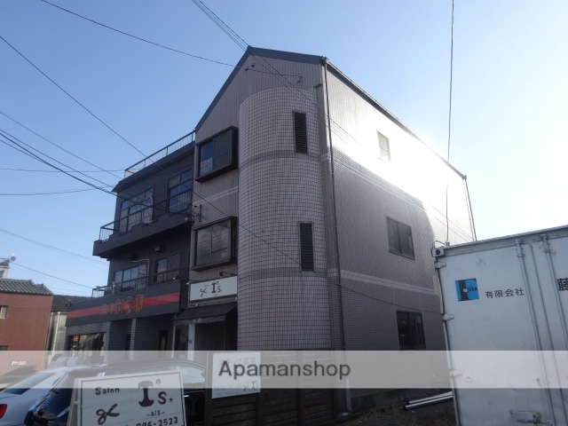 愛知県名古屋市守山区、新守山駅徒歩10分の築26年 3階建の賃貸マンション