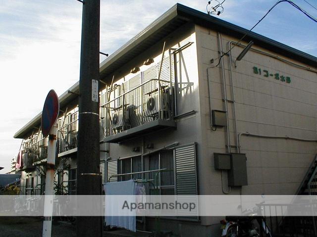 愛知県名古屋市守山区、瓢箪山駅徒歩7分の築36年 2階建の賃貸アパート