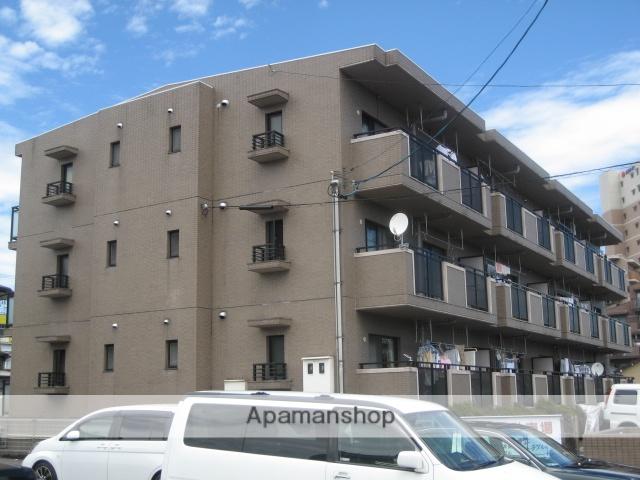 愛知県春日井市、勝川駅徒歩18分の築23年 3階建の賃貸マンション