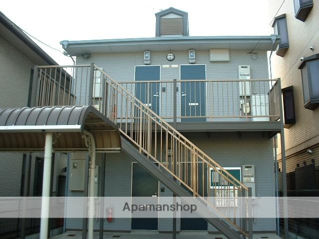 愛知県名古屋市守山区、小幡駅徒歩5分の築19年 2階建の賃貸アパート