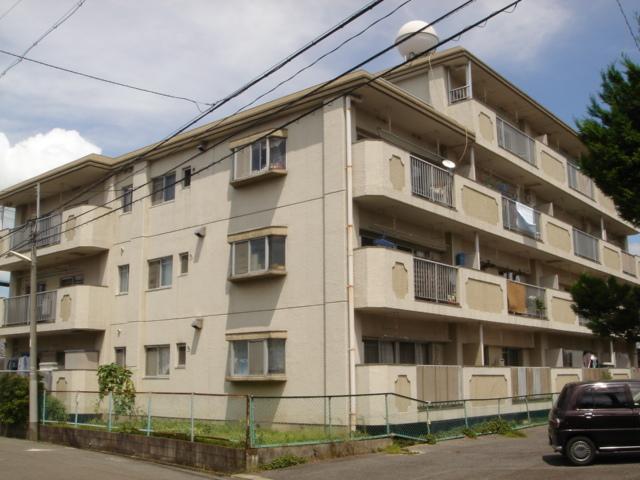 愛知県春日井市、春日井駅徒歩8分の築36年 4階建の賃貸マンション