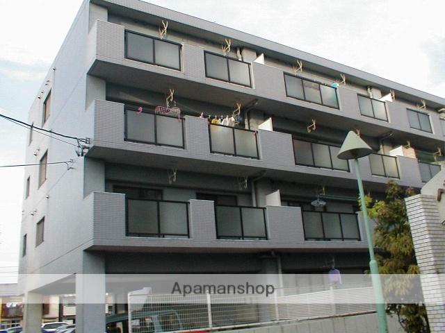 愛知県名古屋市守山区、新守山駅徒歩10分の築25年 4階建の賃貸マンション