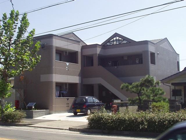 愛知県春日井市、勝川駅徒歩30分の築14年 2階建の賃貸アパート