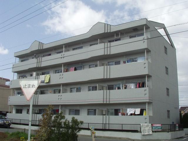 愛知県春日井市、勝川駅徒歩35分の築27年 4階建の賃貸マンション