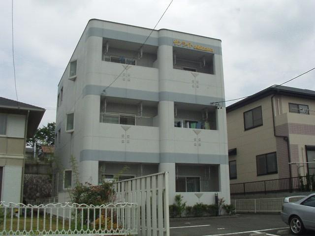 愛知県春日井市、高蔵寺駅名鉄バスバス13分押沢台下車後徒歩6分の築20年 3階建の賃貸アパート