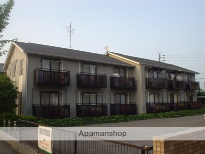 愛知県春日井市、神領駅徒歩15分の築21年 2階建の賃貸アパート