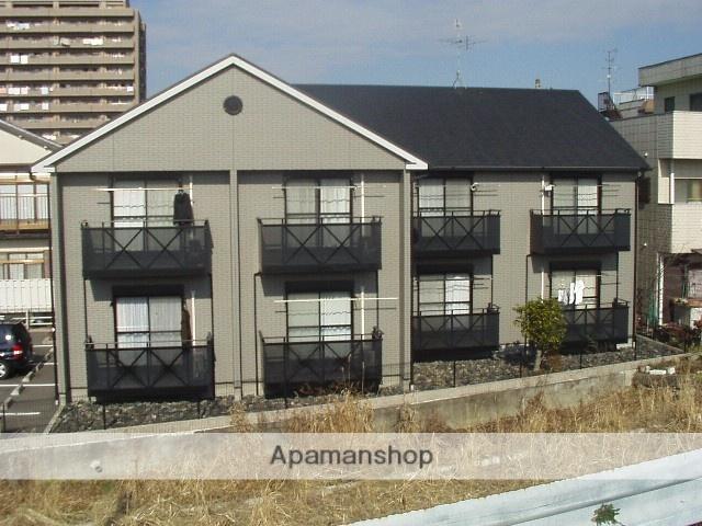愛知県春日井市、春日井駅徒歩5分の築17年 2階建の賃貸アパート