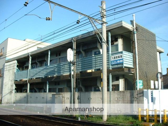 愛知県名古屋市守山区、瓢箪山駅徒歩2分の築42年 2階建の賃貸アパート