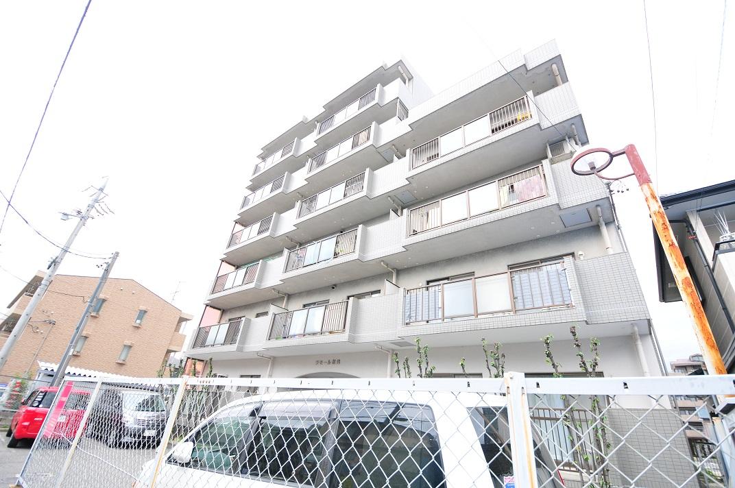愛知県名古屋市守山区、小幡駅徒歩14分の築26年 6階建の賃貸マンション