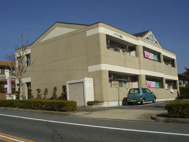 愛知県春日井市、高蔵寺駅名鉄バスバス14分石尾台3丁目下車後徒歩1分の築21年 2階建の賃貸マンション