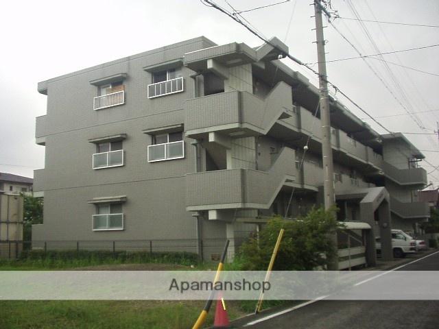 愛知県春日井市、勝川駅名鉄バスバス8分高山口下車後徒歩5分の築23年 3階建の賃貸マンション