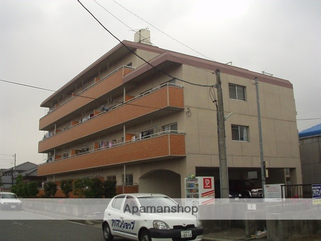 愛知県春日井市、勝川駅徒歩33分の築28年 4階建の賃貸マンション
