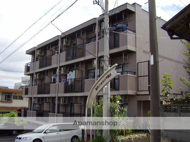 愛知県名古屋市守山区、小幡駅徒歩10分の築25年 4階建の賃貸マンション