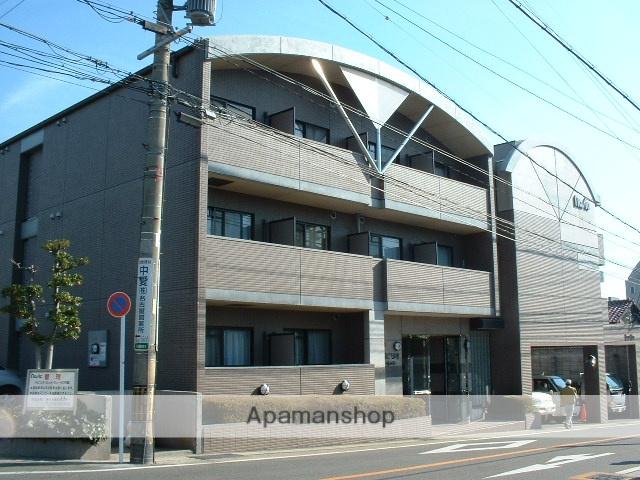 愛知県名古屋市守山区、小幡駅徒歩5分の築22年 3階建の賃貸マンション