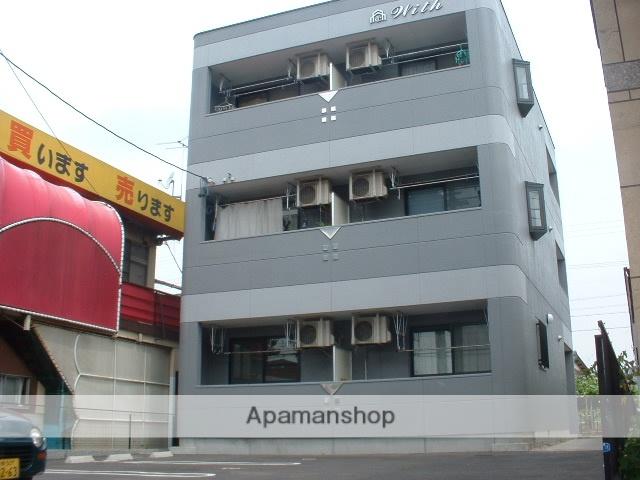 愛知県名古屋市守山区、新守山駅徒歩25分の築15年 3階建の賃貸アパート