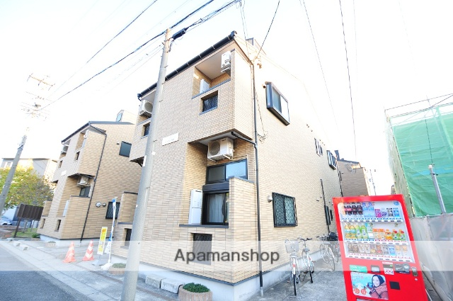 愛知県名古屋市守山区、瓢箪山駅徒歩2分の築10年 2階建の賃貸アパート