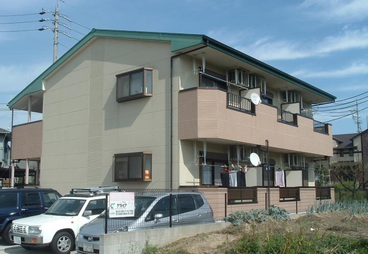 愛知県名古屋市守山区、神領駅徒歩39分の築13年 2階建の賃貸アパート