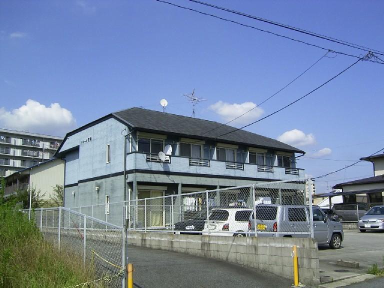 愛知県尾張旭市、印場駅名古屋市営バスバス10分庄中向下車後徒歩3分の築23年 2階建の賃貸アパート