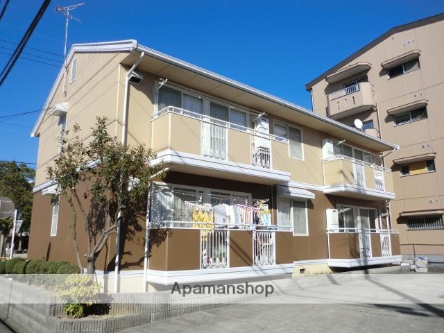 愛知県名古屋市守山区、新守山駅徒歩8分の築28年 2階建の賃貸アパート