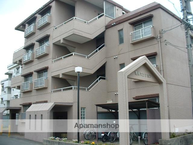 愛知県名古屋市守山区、大森・金城学院前駅徒歩5分の築28年 4階建の賃貸マンション