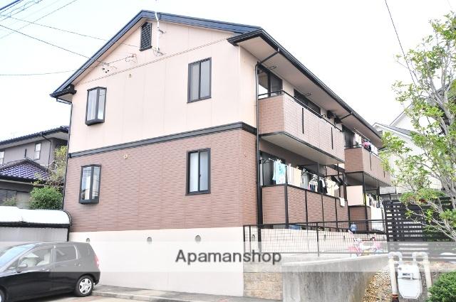 愛知県名古屋市守山区、新守山駅徒歩28分の築21年 2階建の賃貸アパート