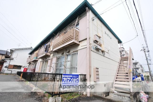 愛知県名古屋市守山区、新守山駅徒歩2分の築28年 2階建の賃貸アパート