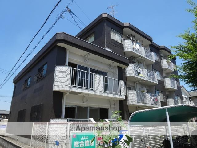 愛知県名古屋市守山区、新守山駅徒歩3分の築36年 4階建の賃貸マンション