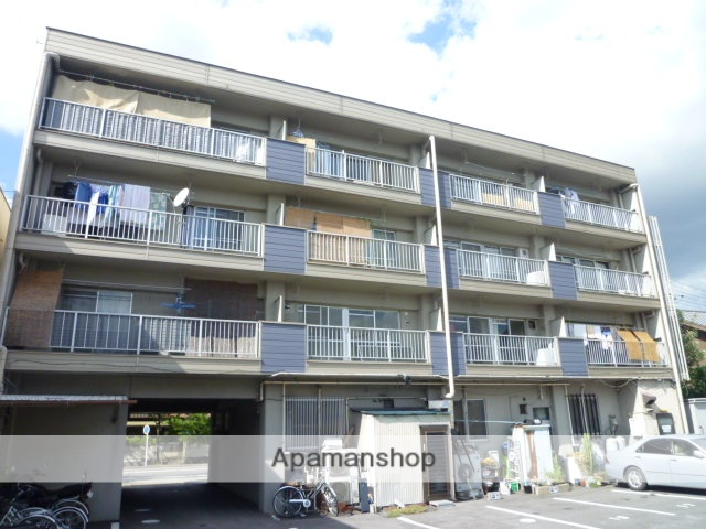 愛知県名古屋市守山区、喜多山駅徒歩15分の築33年 4階建の賃貸マンション