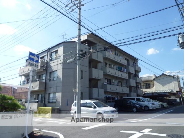 愛知県名古屋市守山区、喜多山駅徒歩4分の築27年 4階建の賃貸マンション