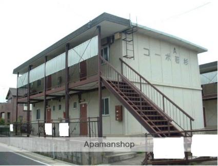 愛知県名古屋市守山区、大森・金城学院前駅徒歩5分の築42年 2階建の賃貸マンション