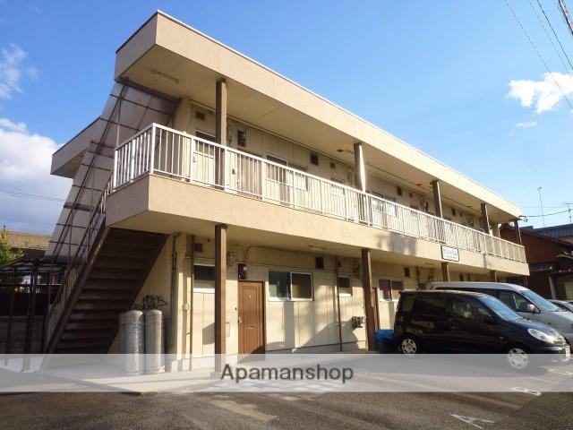 愛知県名古屋市守山区、新守山駅徒歩10分の築37年 2階建の賃貸アパート