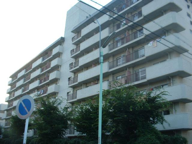 愛知県名古屋市守山区、守山自衛隊前駅徒歩14分の築34年 8階建の賃貸マンション