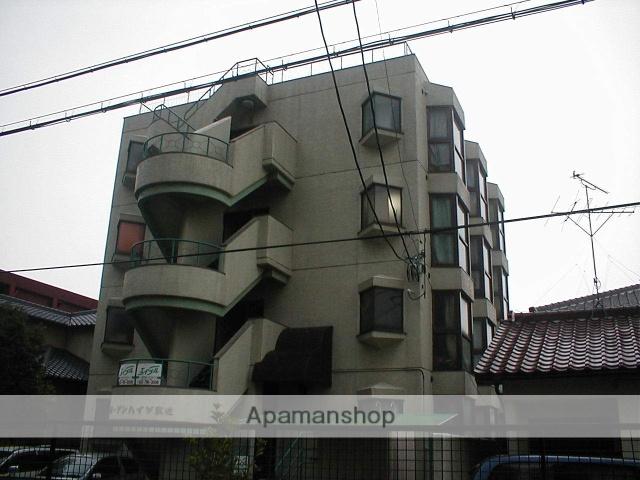 愛知県名古屋市守山区、喜多山駅徒歩8分の築32年 4階建の賃貸マンション
