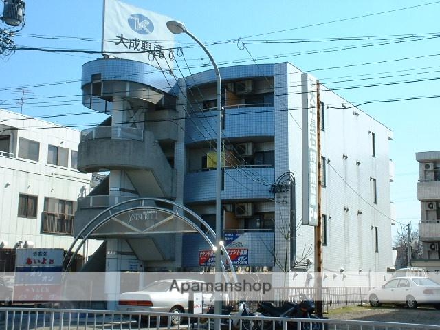 愛知県名古屋市守山区、大森・金城学院前駅徒歩12分の築26年 4階建の賃貸マンション