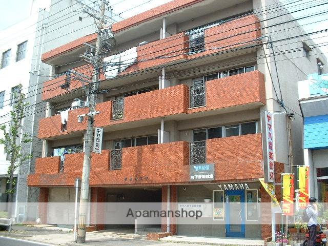 愛知県名古屋市守山区、瓢箪山駅徒歩10分の築34年 4階建の賃貸マンション