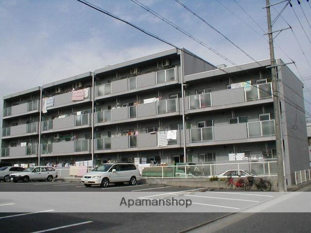 愛知県名古屋市守山区、新守山駅徒歩15分の築23年 4階建の賃貸マンション