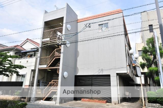 愛知県名古屋市守山区、守山自衛隊前駅徒歩5分の築40年 3階建の賃貸マンション