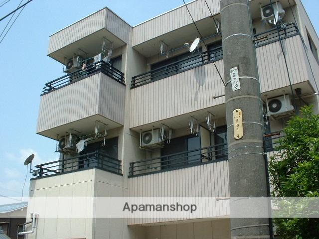 愛知県名古屋市守山区、瓢箪山駅徒歩10分の築28年 3階建の賃貸マンション