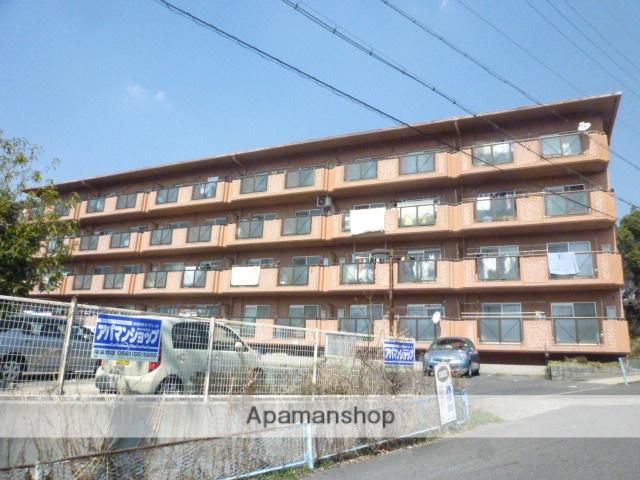 愛知県瀬戸市、瀬戸市役所前駅徒歩18分の築24年 4階建の賃貸マンション