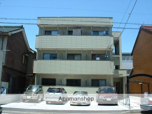 愛知県名古屋市守山区、瓢箪山駅徒歩4分の築14年 3階建の賃貸アパート
