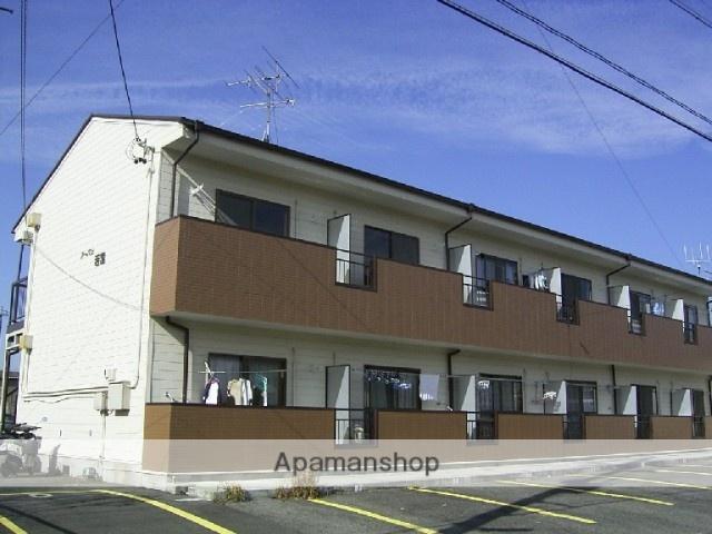 愛知県瀬戸市、山口駅徒歩5分の築23年 2階建の賃貸アパート